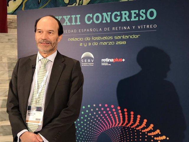 Presidente de la Sociedad Española de Retina y Vítreo