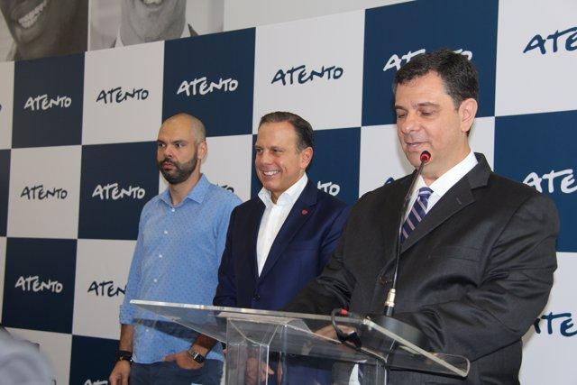 Inauguración del nuevo centro de relación con clientes de Atento en Sao Paulo