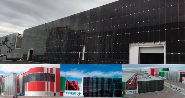 Fábrica Heineken energía renovable