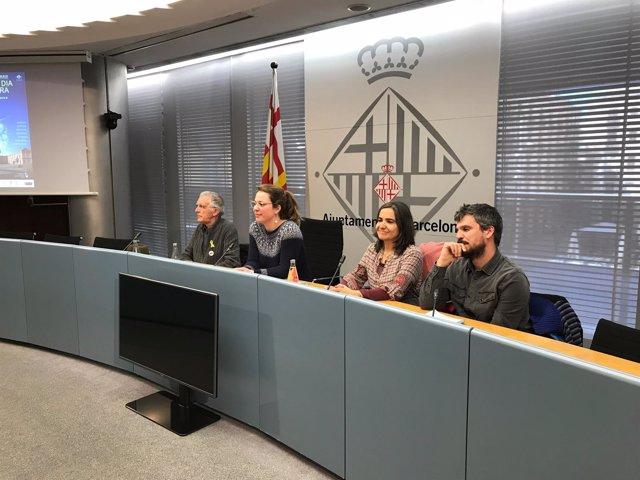 Pep Puig, Janet Sanz, Miriam Subirana y Álvaro Porro