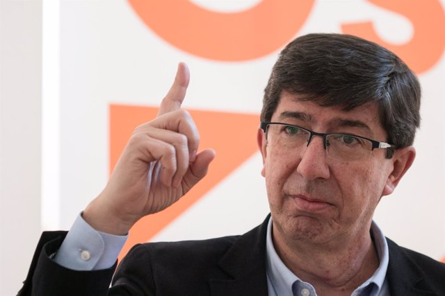 Juan Marín, presidente de Cs en Andalucía