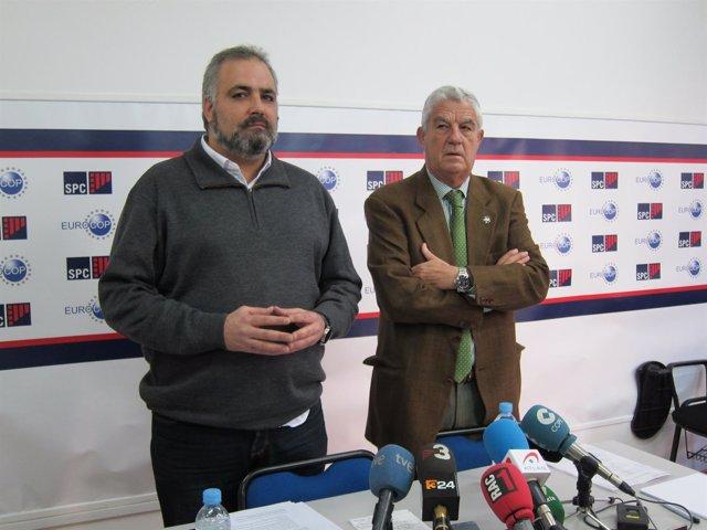 David José (SPC) y el abogado José María Fuster-Fabra