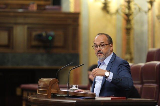 Carles Campuzano en el Congreso.