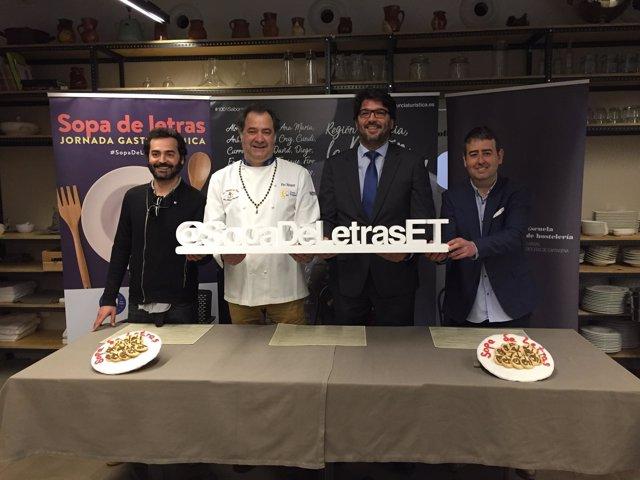 Foto/`Presentación De La Nueva Edición De ' Sopa De Letras