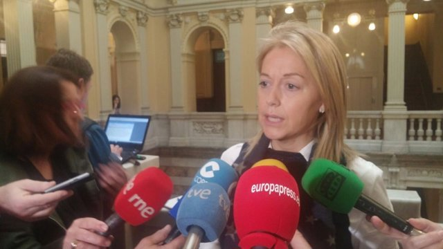 La presidenta de Foro Asturias, Cristina Coto