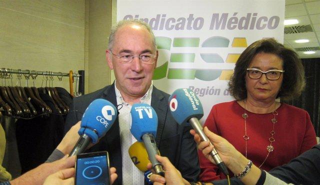 Miralles del CESM y Montoya del Colegio Médicos presentan estudio