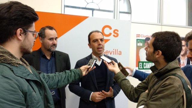 Millán con Pablo Arenas