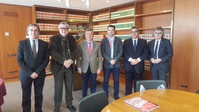 Delegación de la FMM y Área Metropolitana de Barcelona
