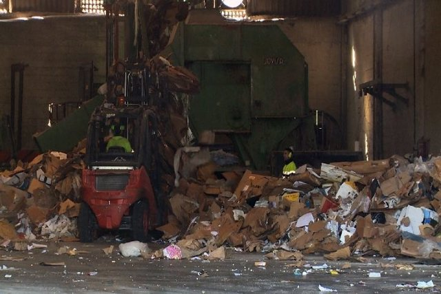 Planta de reciclaje en Amorebieta