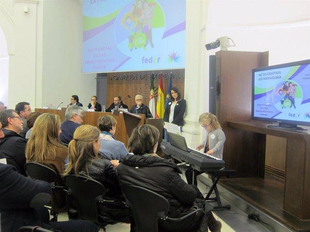 Acto en la Asamblea con motivo del Día Mundial de las Enfermedades Raras