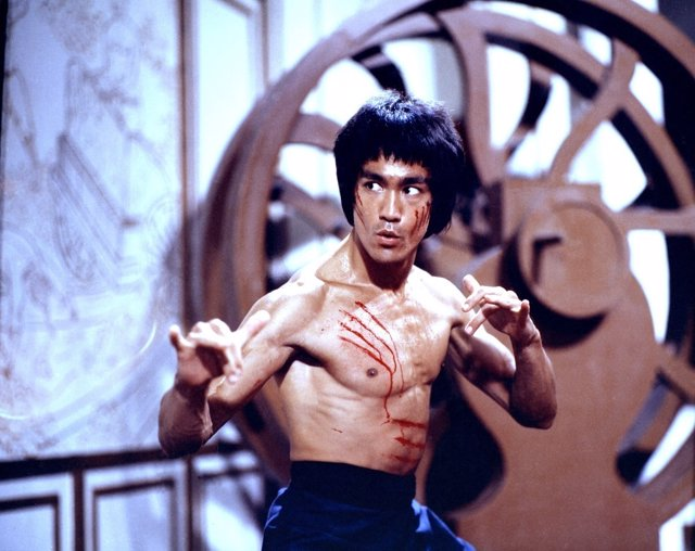 Picture shows: Bruce Lee