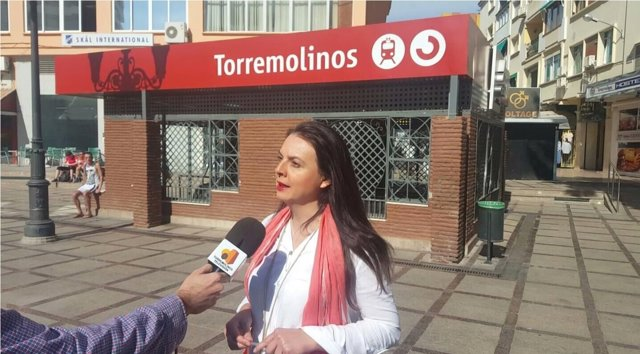 Maribel Tocón edil de urbanismo y portavoz del PSOE Ayto Torremolinos nogalera