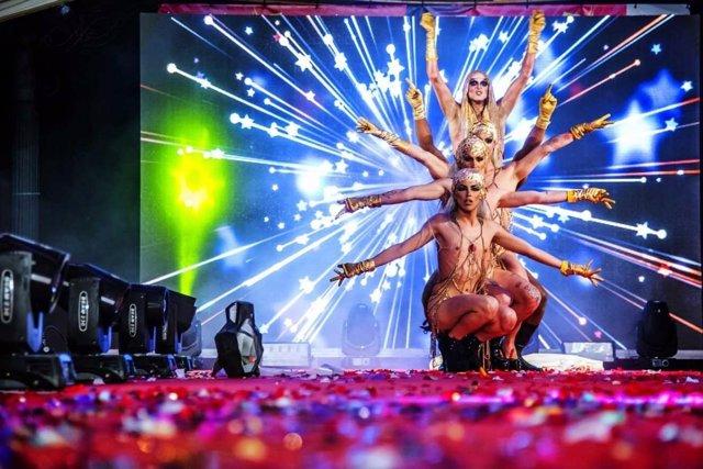 Drag queen ayuntamiento de torremolinos málaga gala carnaval