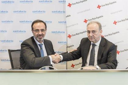 Santalucía y Cruz Roja Española se unen para facilitar la inserción laboral de jóvenes en riesgo de exclusión