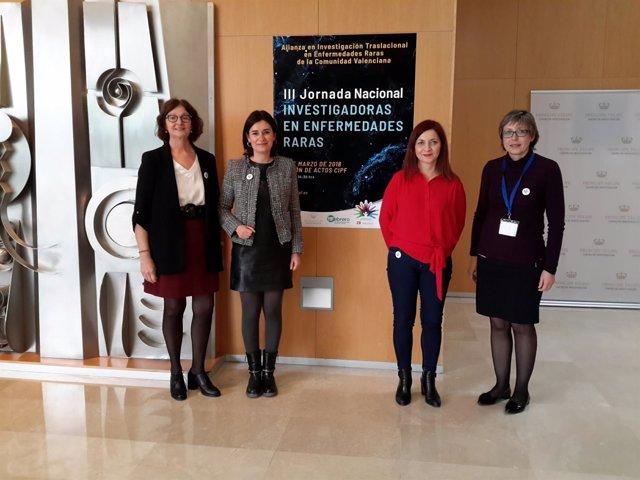 Montón en la Jornada Nacional de Investigadoras de Enfermedades Raras