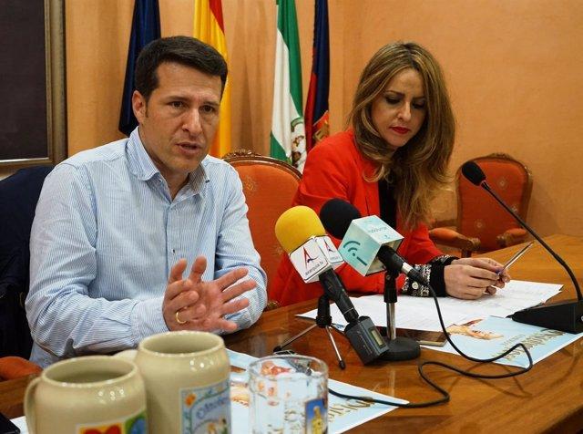 'Oscar Medina En Rueda De Prensa