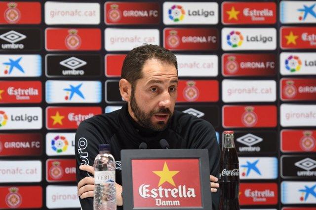 Pablo Machín, entrenador del Girona FC