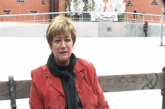 Isabel de la Fuente, madre de Cristina Arce, víctima del Madrid Arena