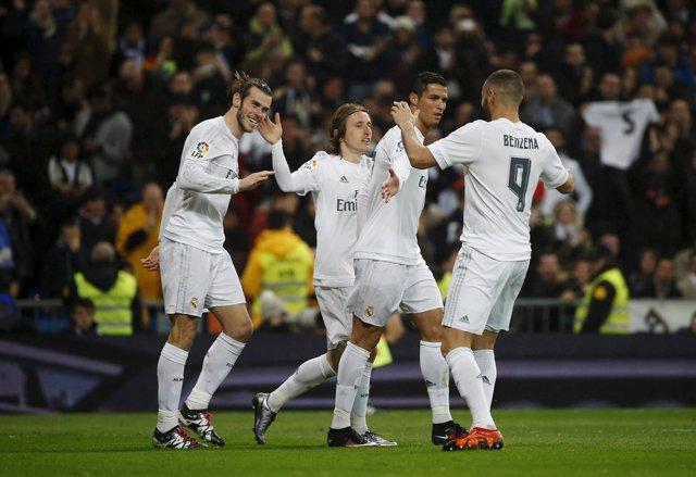 La BBC del Real Madrid, Bale, Cristiano y Benzema