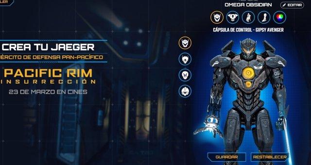 Crea tu Jaeger