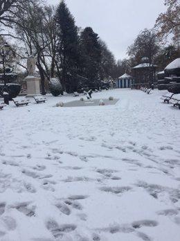 Nieve en Burgos