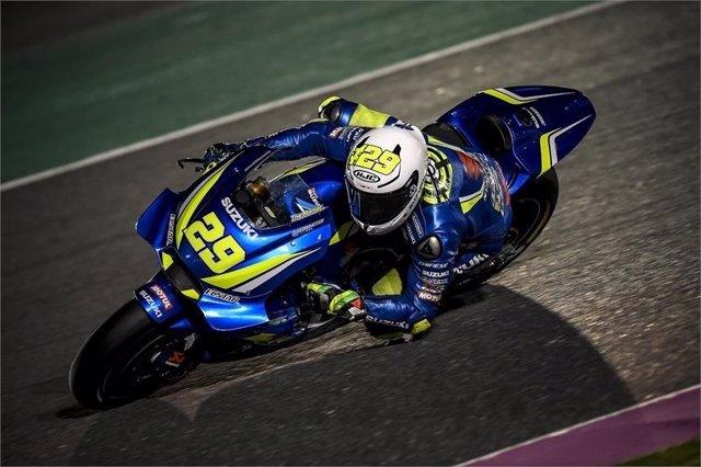 El piloto italiano Andrea Iannone