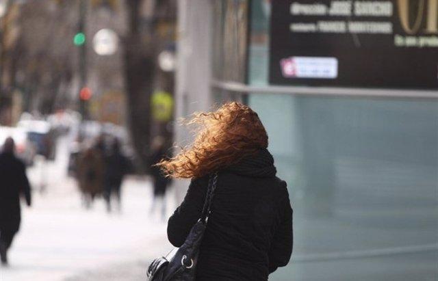 Frío, viento