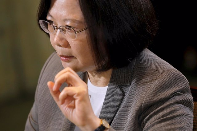 La presidente de Taiwán, Tsai Ing Wen