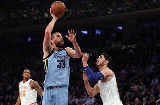 Marc Gasol en el Memphis Grizzlies - New York Knicks