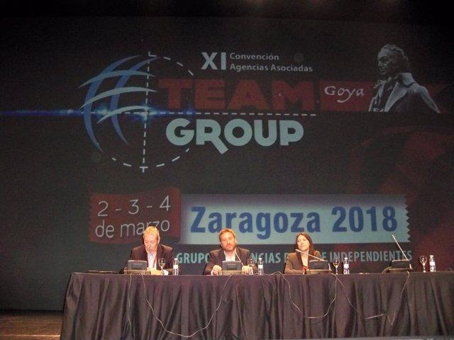Convención Team Group en Zaragoza.