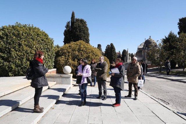 Visita guida al cementerio de La Almudena