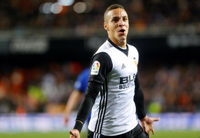 Rodrigo Moreno, delantero del Valencia