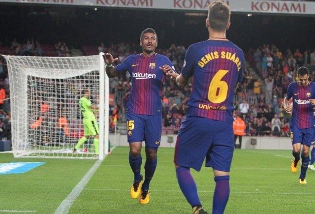 Paulinho Denis Suárez Barcelona Eibar