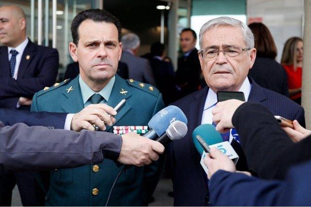 El subdelegado del Gobierno en Almería atiende a los medios