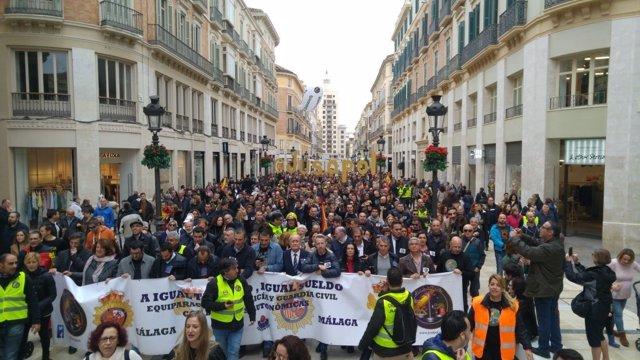 Jusapol Málaga manifestación