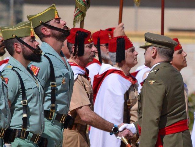 El comandante general de Melilla, Fernando Gutiérrez Díaz de Otazu