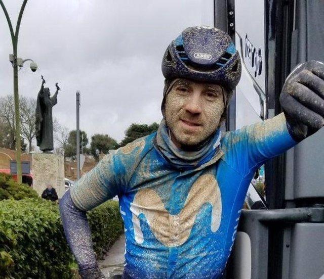 Alejandro Valverde tras la Strade Bianche