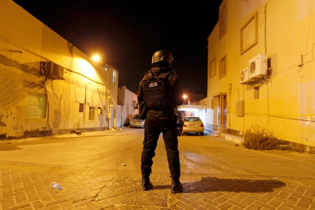 Policía en Bahréin