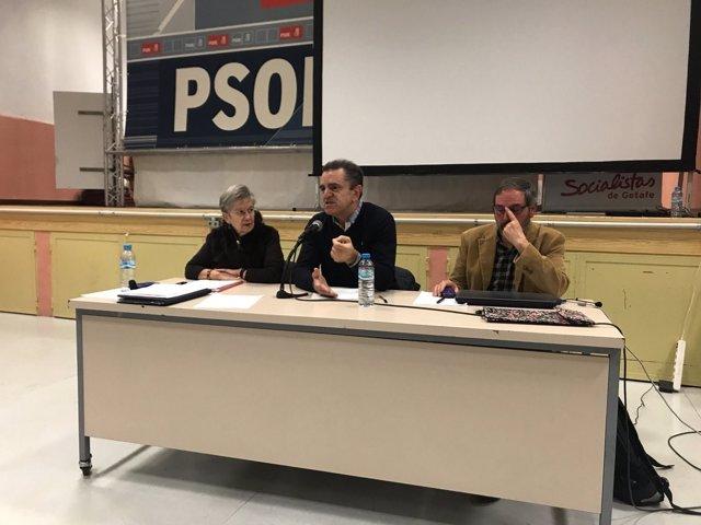 José Manuel Franco, en las Jornadas del PSOE-M en Getafe