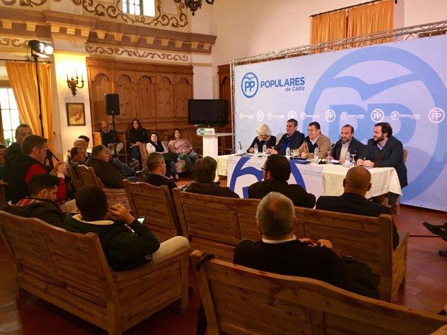 Reunión del Ágora Rural del PP de Cádiz