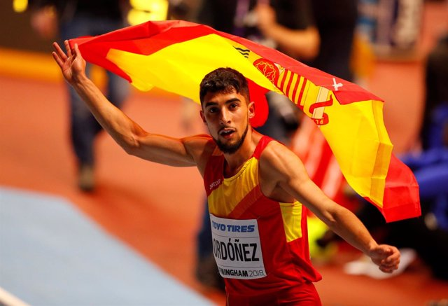 Saúl Ordóñez, plata en 800 metros del Mundial
