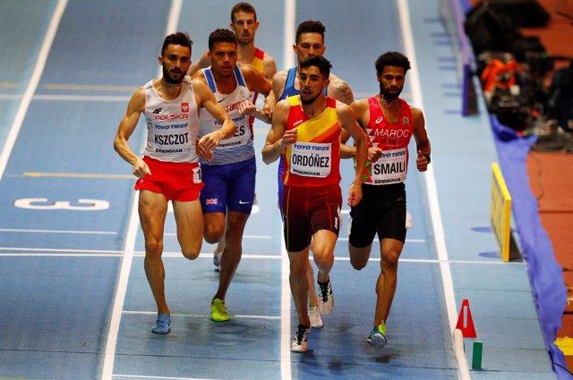 El atleta español Saúl Ordóñez