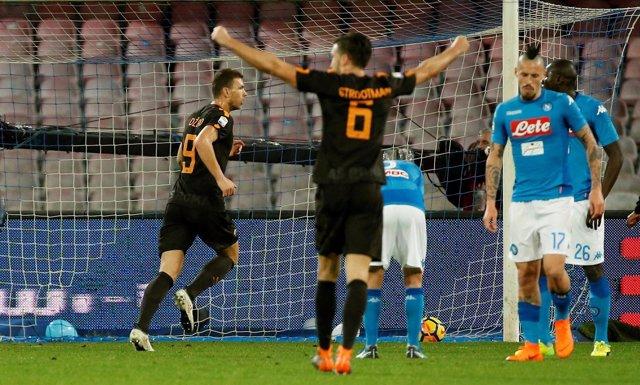 Nápoles Roma Serie A