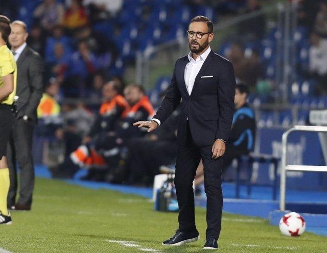 José Bordalás, entrenador del Getafe