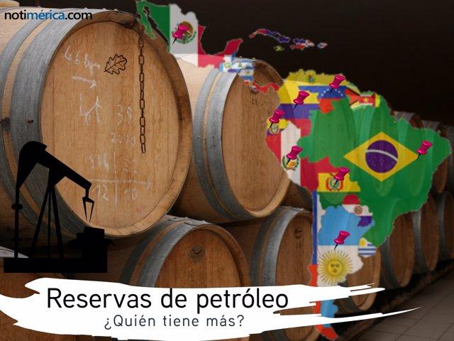 ¿Cuánto Petróleo Hay En Iberoaérica?
