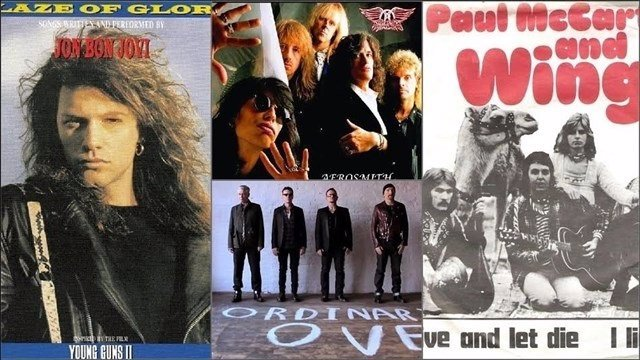 JON BON JOVI, AEROSMITH, U2 Y PAUL MCCARTNEY