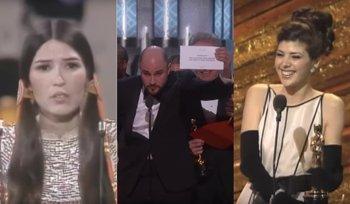 Foto: Los 12 momentos más explosivos de la historia de los Oscar