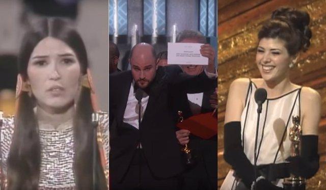 Momentos escandalosos de los Oscar