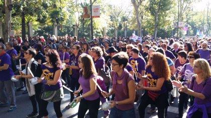 La Comisión 8 de marzo reivindica el recorrido de 40 años de feminismo en España que lleva a la huelga del jueves
