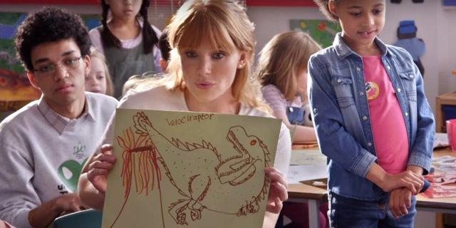 Claire crea el Grupo de Protección de Dinosaurios